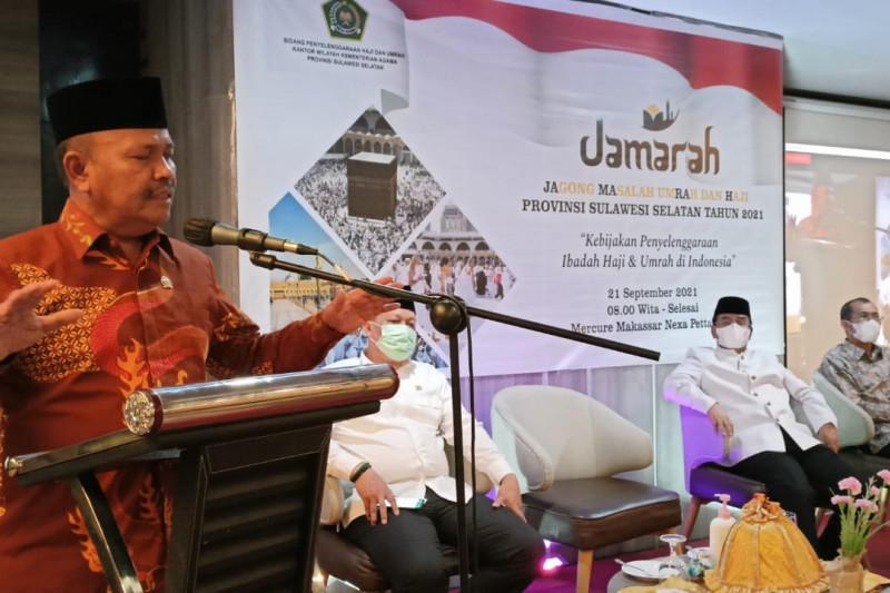 Sulsel peringkat satu daftar tunggu haji di Indonesia