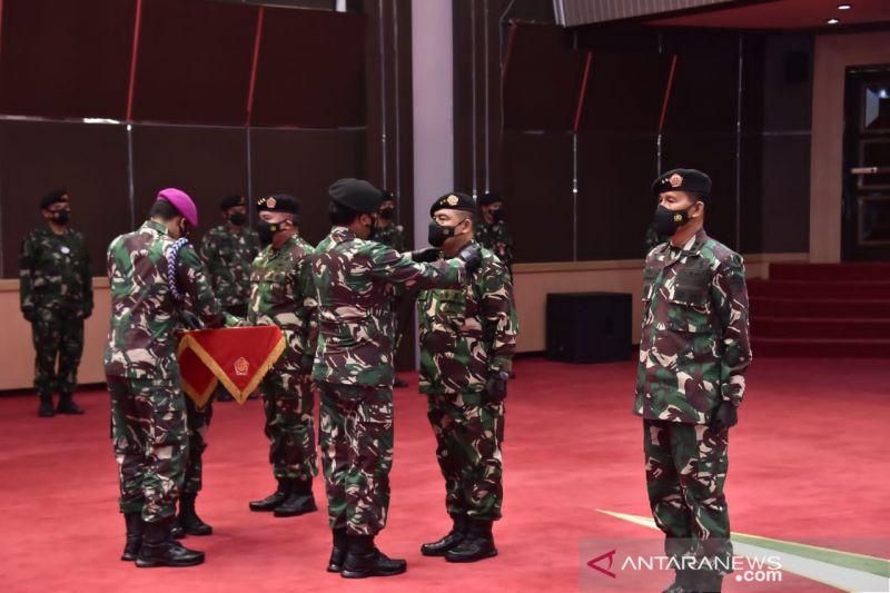 Panglima TNI pimpin sertijab Dankodiklat, Aster, Kapuskes dan Kasetum