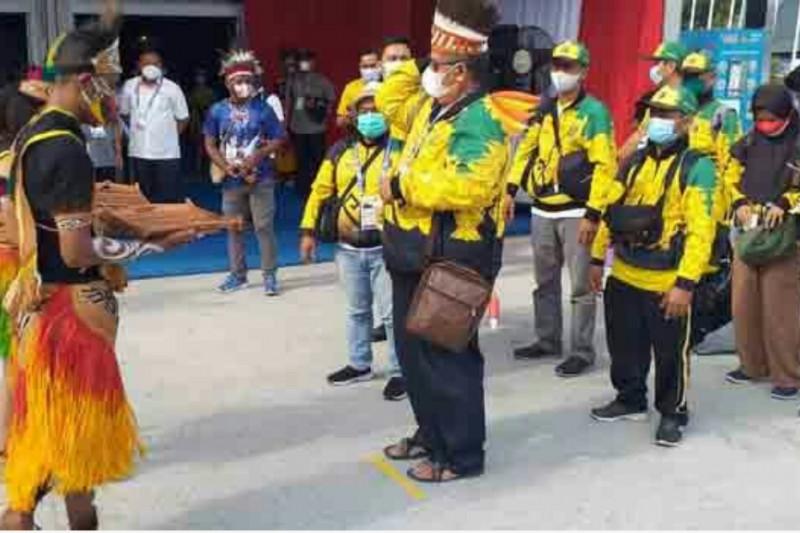 Atlet Lampung lakukan penyesuaian tempat pertandingan PON XX
