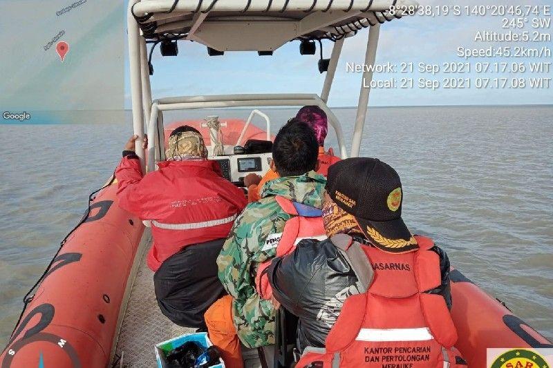 SAR cari ABK KMN Ringgo Natuna yang tenggelam diperairan Merauke