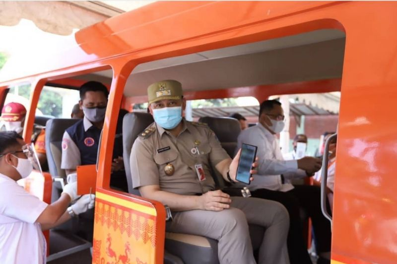 Pemkot Jakarta Timur cek kesiapan protokol kesehatan TMII