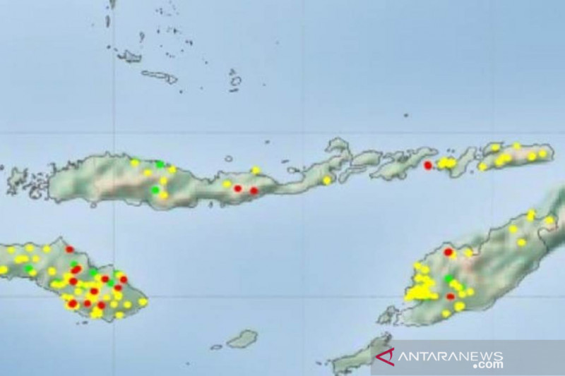 BMKG laporkan 20 titik panas kembali muncul di wilayah NTT