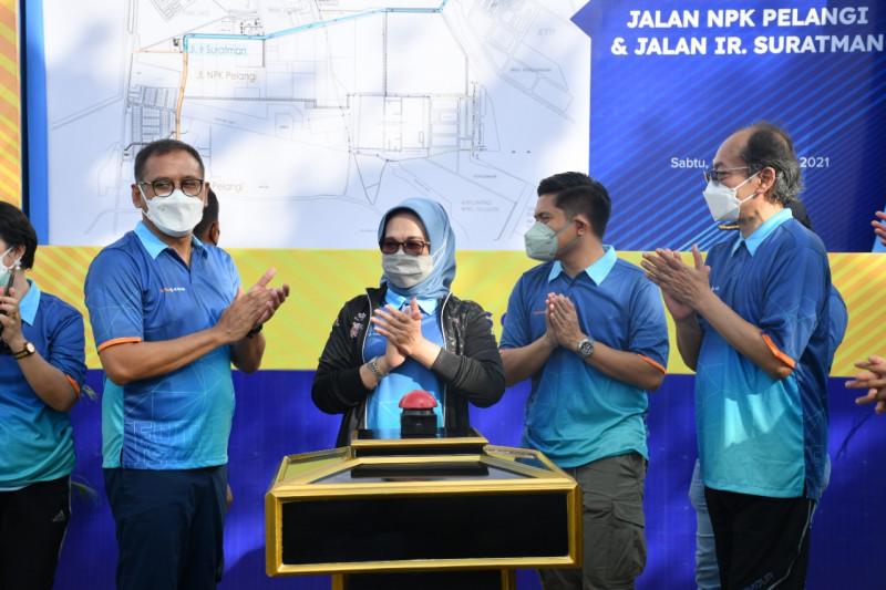 Pupuk Kaltim Resmikan Jalan Suratman-NPK Pelangi dukung investasi
