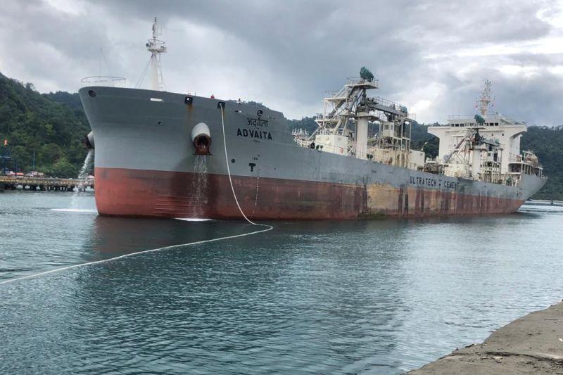 PT Semen Padang ekspor semen dan klinker 111 ribu MT pada Agustus