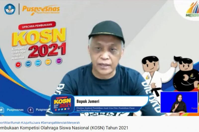 Kemendikbudristek selenggarakan KOSN 2021