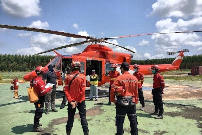 Darurat karhutla Sumsel, PT Bumi Mekar Hijau siagakan helikopter