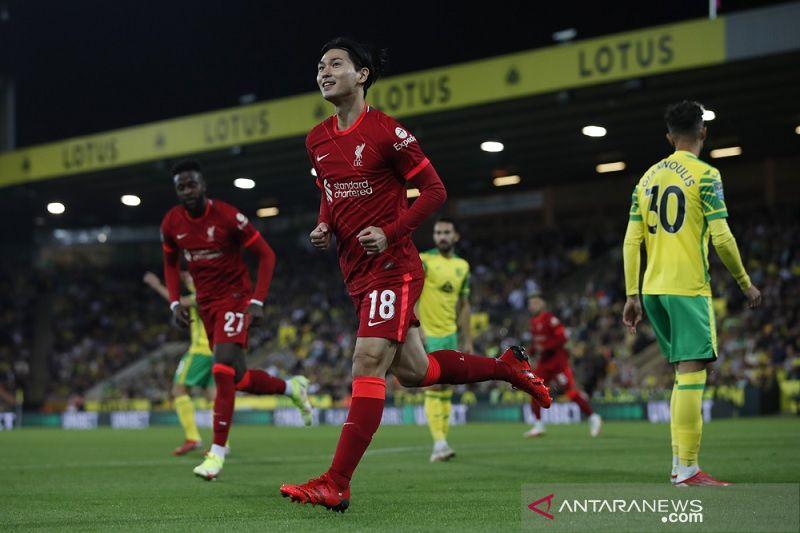 Minamino, Origi antar Liverpool lewati Norwich di Piala Liga