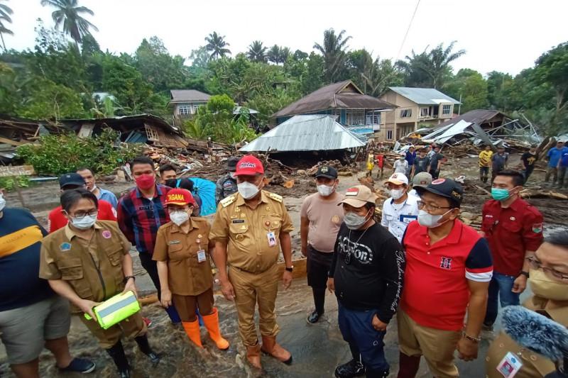 Pemprov Sulut pastikan bantuan bagi korban banjir di Minahasa Tenggara