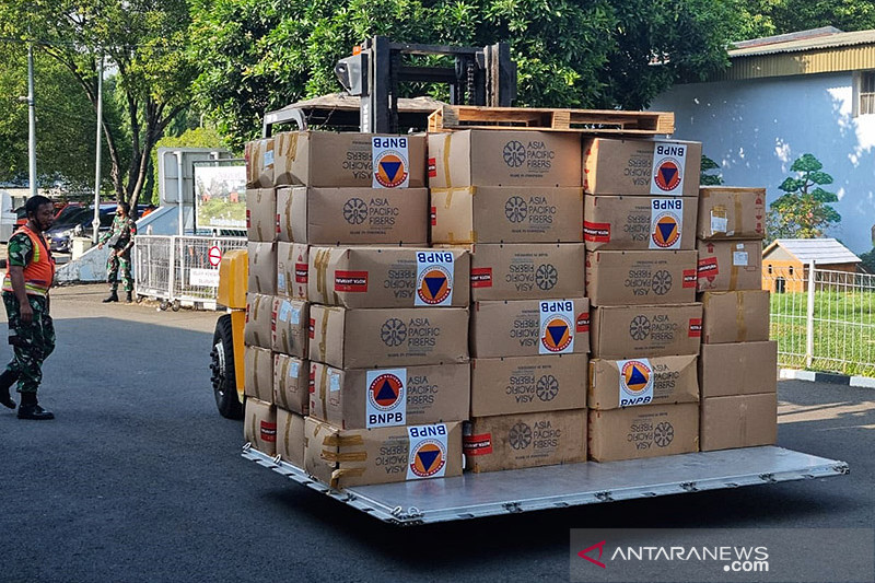 BNPB kirim tiga juta masker perkuat protokol kesehatan PON XX Papua