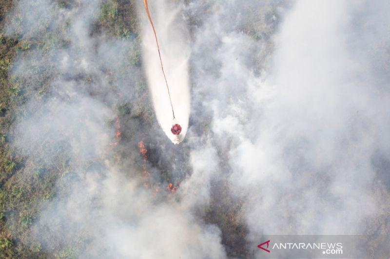 BPBD Sumatera Selatan lakukan pemadaman titik api di tujuh kabupaten