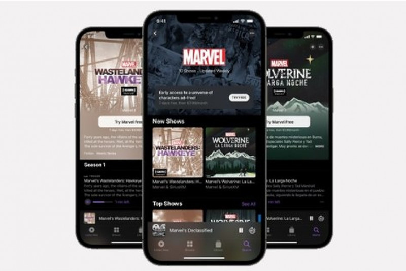 Marvel Podcast Unlimited akan tersedia di Apple Podcast