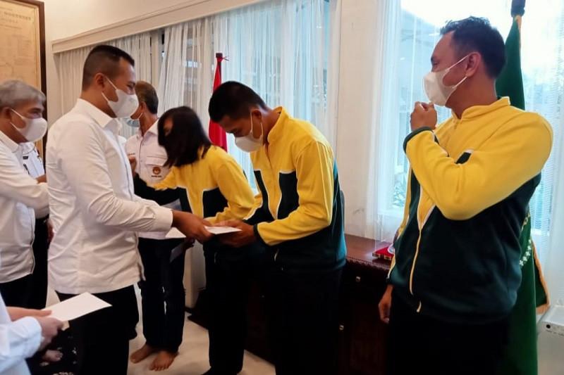 Pengprov TI Sumut janjikan bonus taekwondoin peraih medali