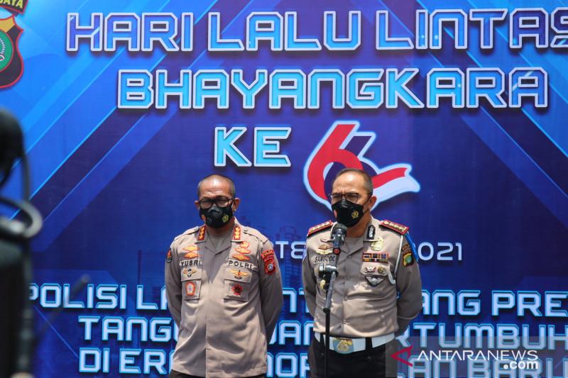 Polda Metro Jaya peringati HUT Lantas Bhayangkara ke-66