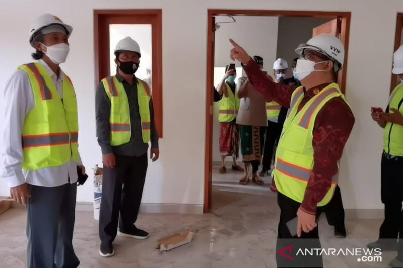 Koordinator Stafsus Presiden tinjau pembangunan asrama mahasiswa Bali