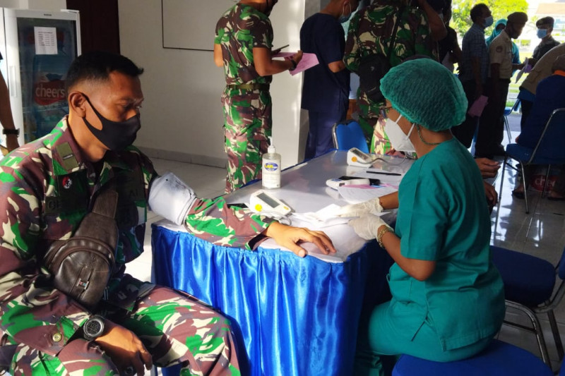 TNI AL Denpasar lakukan Urikkes guna tingkatkan kesiapsiagaan prajurit