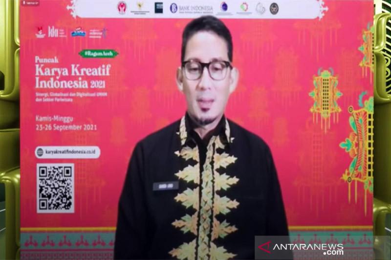 Sandiaga sebut Gernas BBI untuk bantu UMKM onboarding platform digital