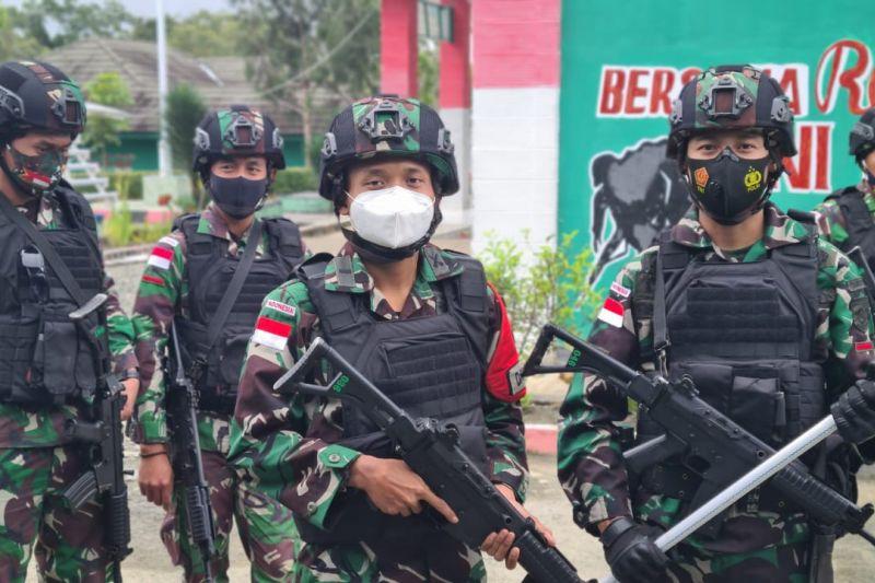 Satgas Pamtas RI-Timor Leste minta warga menyerahkan senjata api