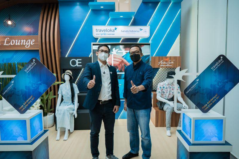 Garuda Indonesia gandeng swasta genjot jumlah penumpang