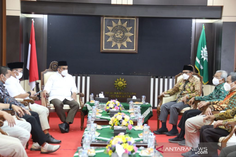 Gerindra-Muhammadiyah jalin silaturahim jaga komunikasi