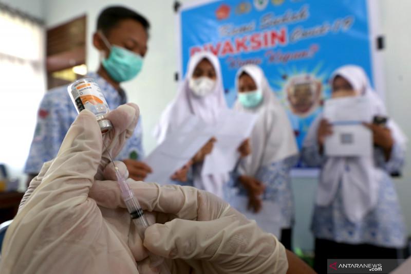 Penerima dosis lengkap vaksin COVID-19 di RI capai 46,98 juta orang