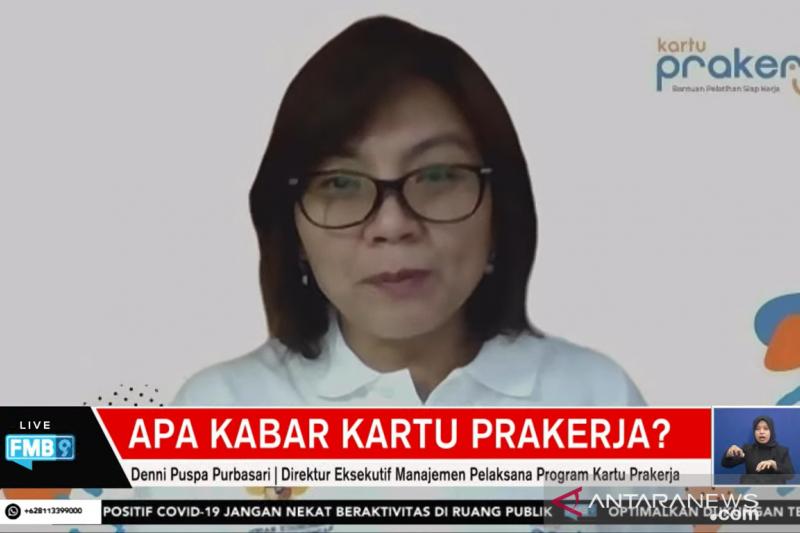 Manajemen sebut Kartu Prakerja jangkau seluruh wilayah Indonesia