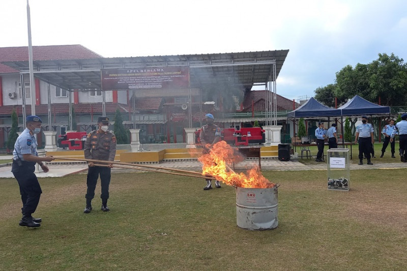 Napi Rutan Bandarlampung deklarasi dukung