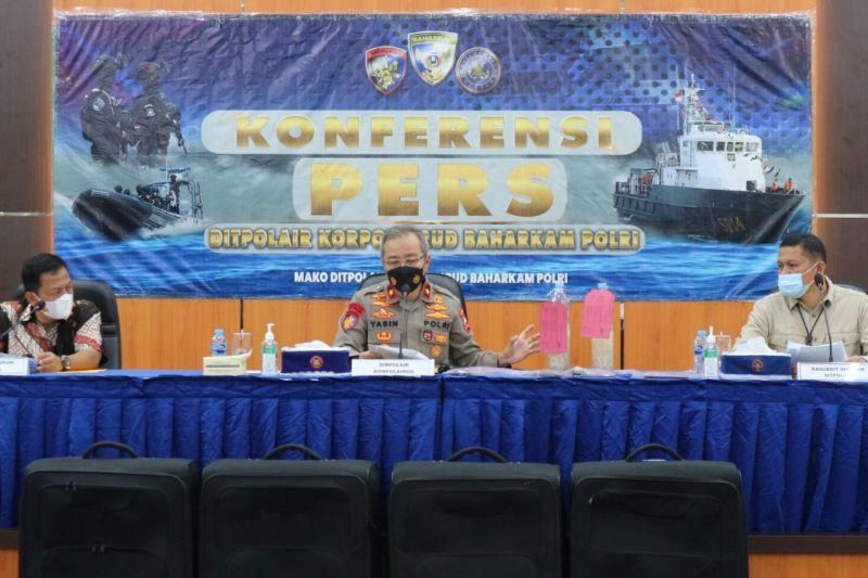 Ditpolair Polri menggagalkan penyelundupan benur senilai Rp33,6 miliar