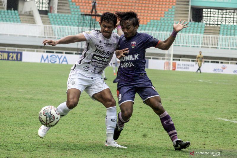 Dua gol Spasojevic bawa Bali United kalahkan Persita Tangerang 2-1