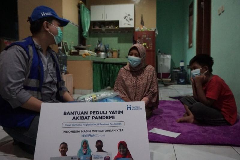 Human Initiative salurkan beasiswa bagi anak yatim akibat COVID-19