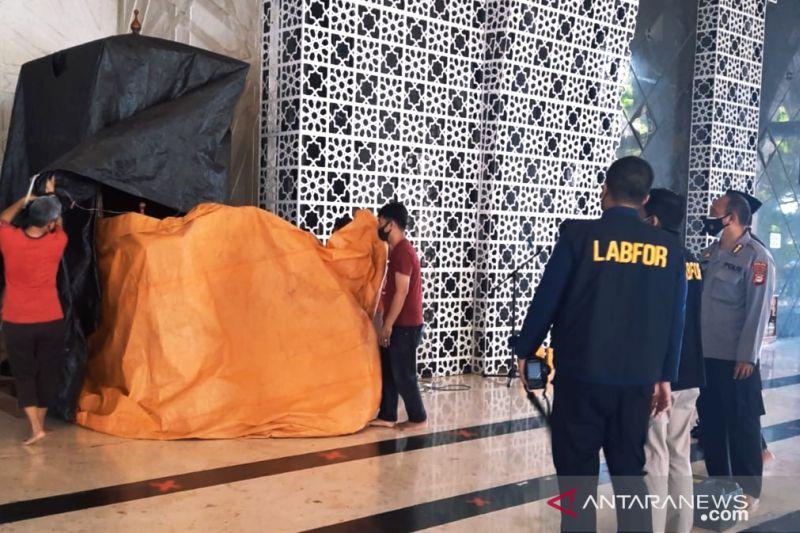 Polisi kejar pelaku pembakar mimbar di Masjid Raya Makassar