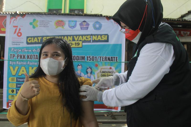 Dinkes Malut akui capaian vaksin COVID-19 baru 21,8 persen