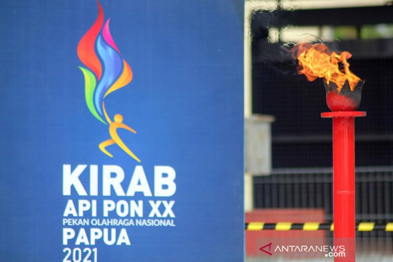 Pengambilan api abadi untuk PON Papua