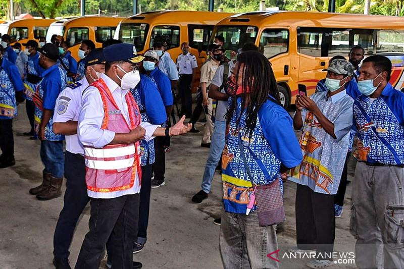 Menhub pastikan kesiapan sarana transportasi pendukung PON XX di Papua
