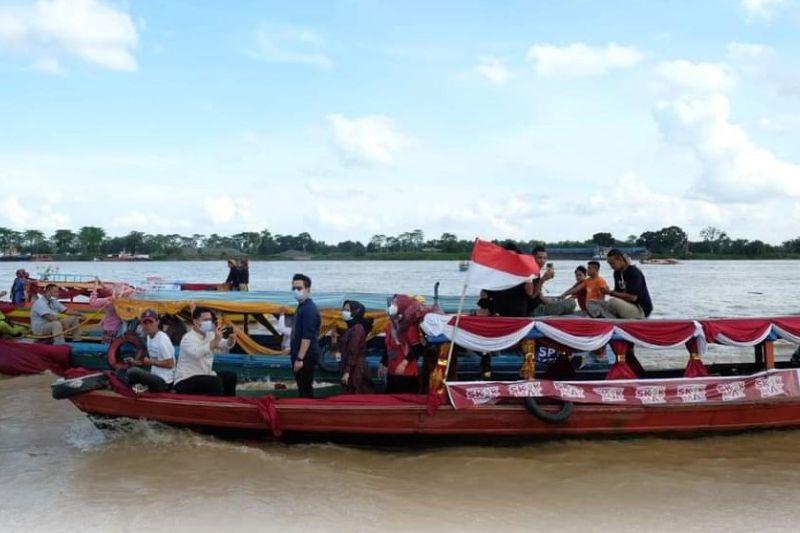 Susur Sungai Batanghari meriahkan Festival Candi Muaro Jambi