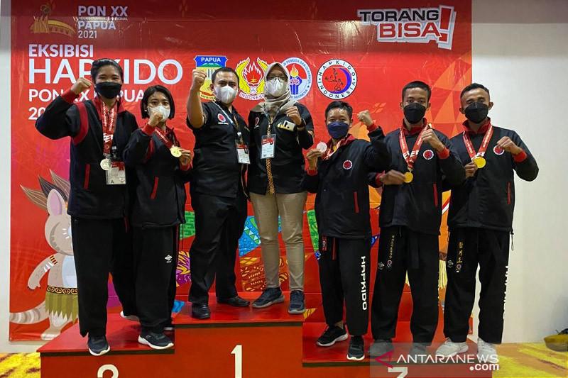 Lampung juara umum hapkido PON Papua thumbnail