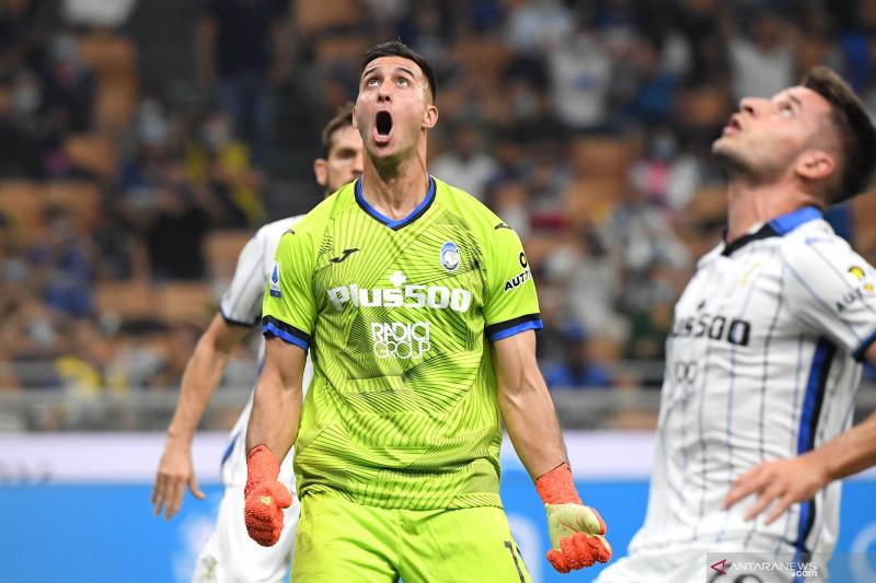 Liga Italia: Inter Milan vs Atalanta berakhir imbang 2-2