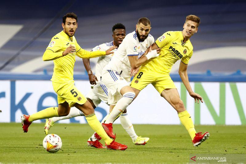 Liga Spanyol: Villarreal  tahan Real Madrid tanpa gol