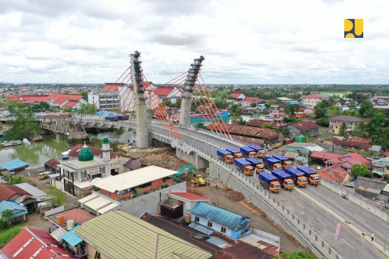 PUPR tindaklanjuti arahan Presiden untuk uji coba Jembatan Sei Alalak