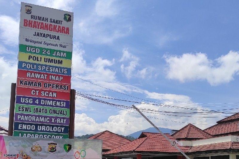 KKB Senaf Soll meninggal di RS Bhayangkara Jayapura