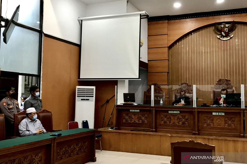 PN Jakarta Selatan mencabut permohonan praperadilan Yahya Waloni