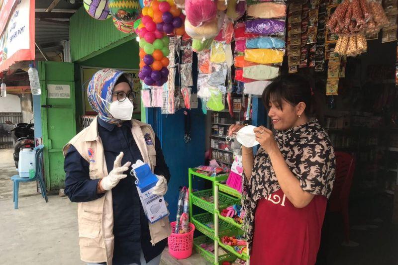 Jelang PON, BNPB bagikan 1.500 masker bagi warga Kabupaten Mimika