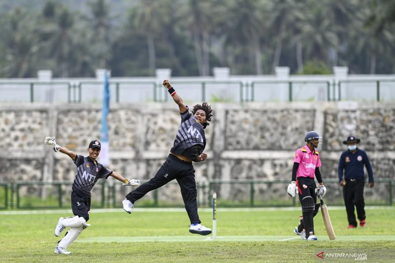 PON Papua: Cricket Putra NTT kalahkan Sumbar