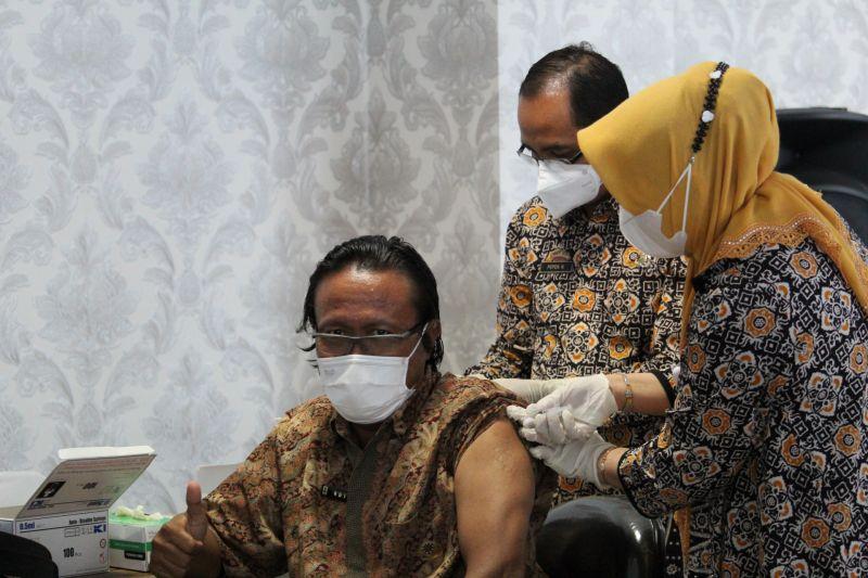 Lampung jangkau vaksinasi bagi warga di pelosok daerah