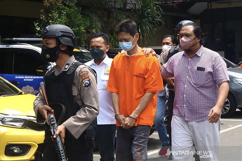 Polisi menangkap pelaku pembunuhan istri siri di Kota Malang