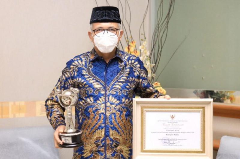 Pemerintah Provinsi Aceh meraih Anugerah Parahita Ekapraya 2021