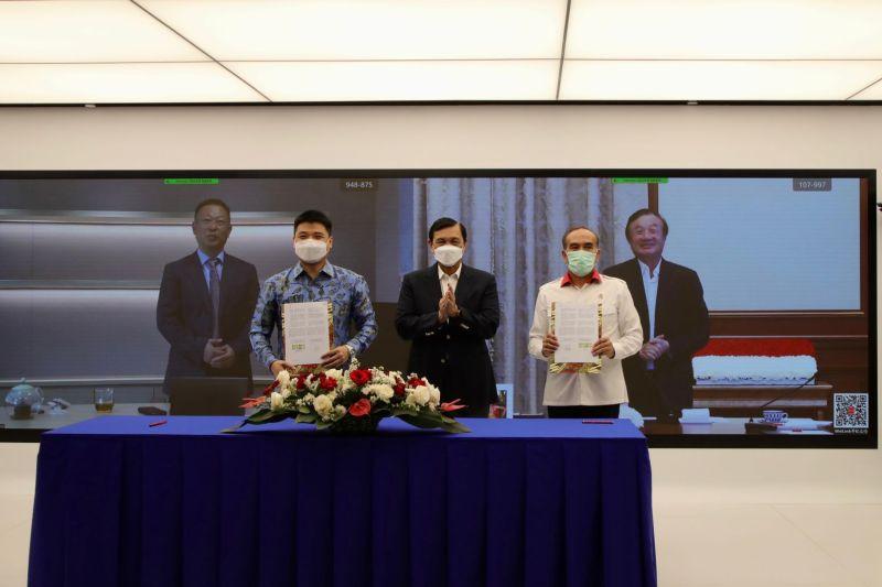 Indonesia jalin kerja sama teknologi dengan Huawei