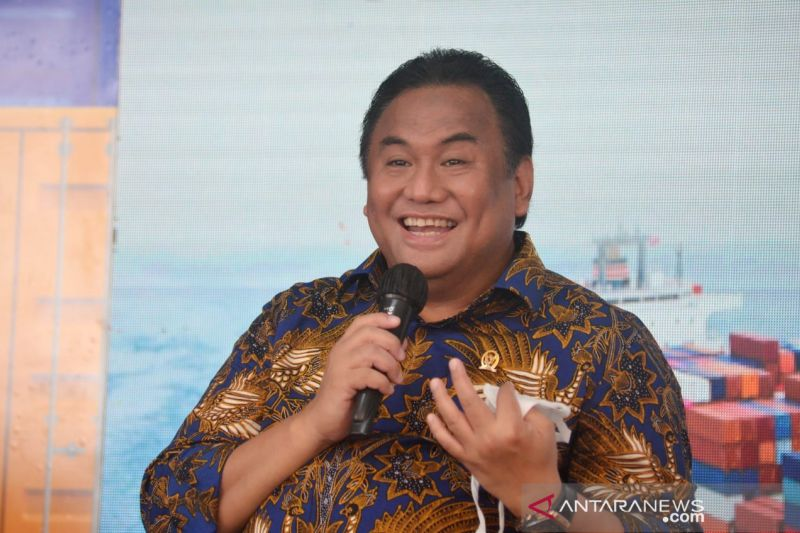 Rachmat Gobel sebut Pelabuhan Anggrek lokomotif ekonomi Gorontalo thumbnail