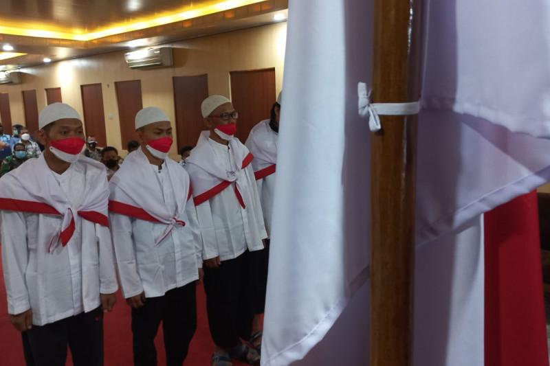 Empat napi terorisme berikrar setia NKRI di Lapas Rajabasa Lampung