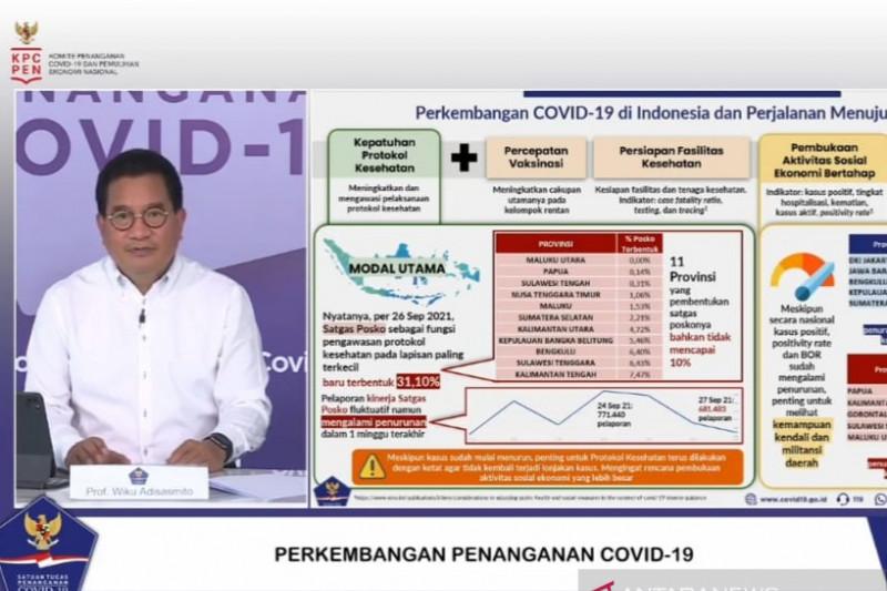 Pemerintah tingkatkan kesigapan daerah respons COVID-19 menuju endemi