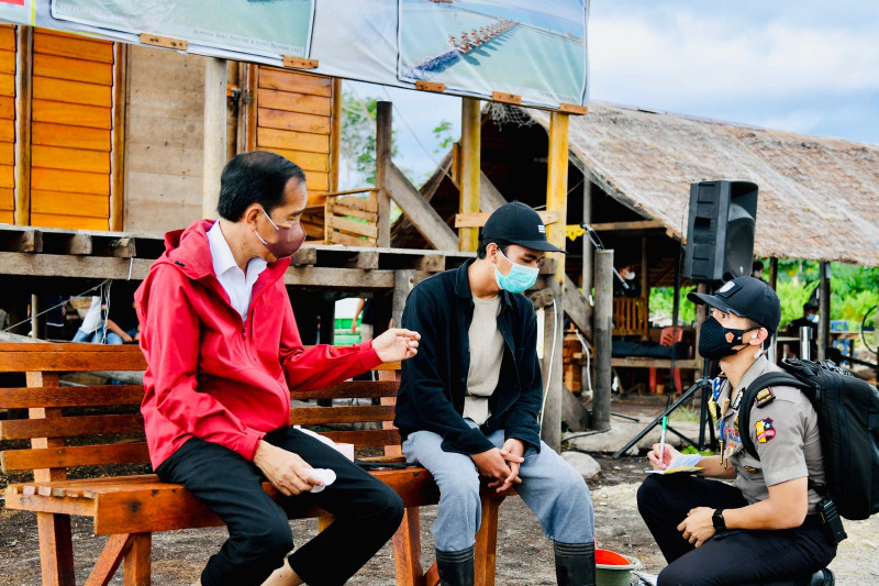 Jokowi dukung semangat pemuda di Bengkalis kembangkan potensi ekspor